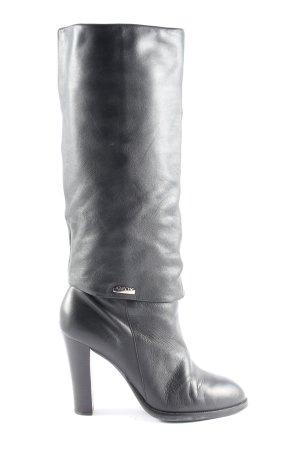 Geox Absatz Stiefel schwarz Casual-Look