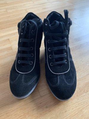 Geox Respira Zapatillas con tacón negro