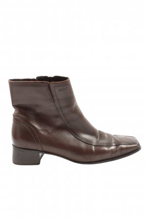 Geox Ankle Boots brown themed print casual look