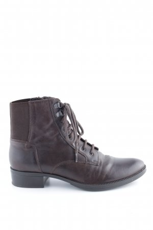 Geox Ankle Boots braun Business-Look