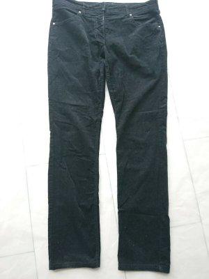 Geox Respira Pantalone di velluto a coste nero