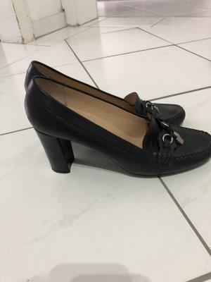 Geox Heel Pantolettes black
