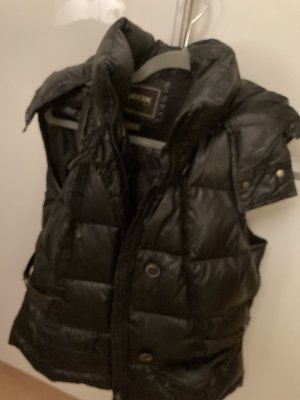 Geox Down Vest black mixture fibre
