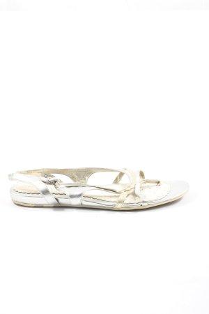 Geox Dianette sandalen zilver casual uitstraling