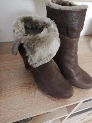 Geox Halb Stiefel Leder Größe 37 neu