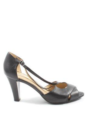 Geox High Heel Sandaletten schwarz Business-Look