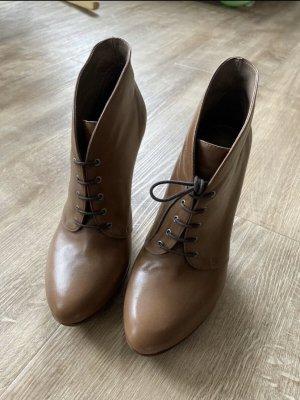 Geox-High Heel Schnürstiefelette (39)