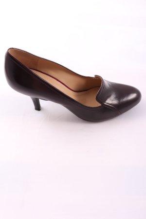 Geox High Heels braun Business-Look