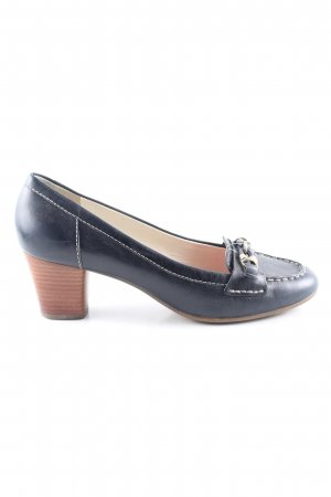 Geox High Heels blau Casual-Look