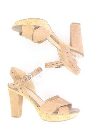 Geox Platform High-Heeled Sandal brown