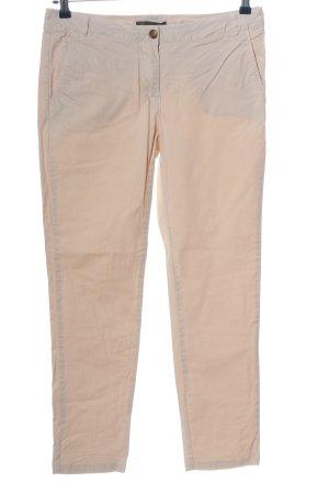 Geox Pantalone a vita alta crema stile casual