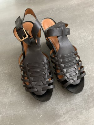Geox Wedge Sandals black