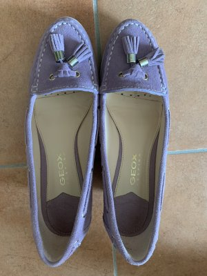 Geox Wedge Pumps white-purple