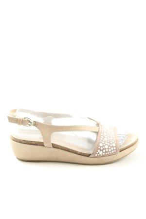 Geox Komfort-Sandalen creme Casual-Look
