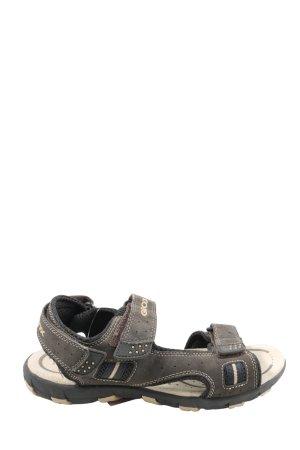 Geox Sandalo comodo grigio chiaro stile casual