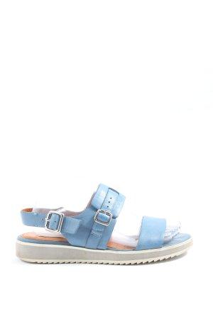 Geox Komfort-Sandalen blau Casual-Look