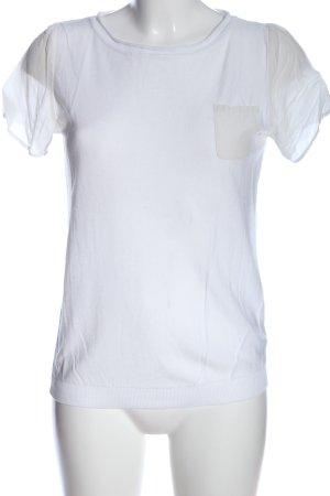 Geox Camicetta a maniche corte bianco stile casual