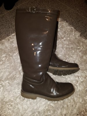Geox Botines de invierno taupe-marrón grisáceo