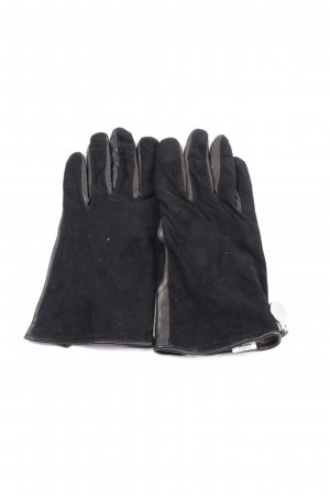 Geox Leather Gloves black business style
