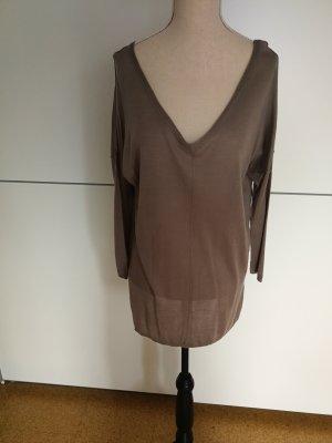 Geox Camicia maglia cachi