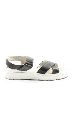 Geox Sandalias cómodas negro look casual