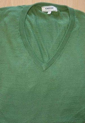Geox Maglione con scollo a V verde