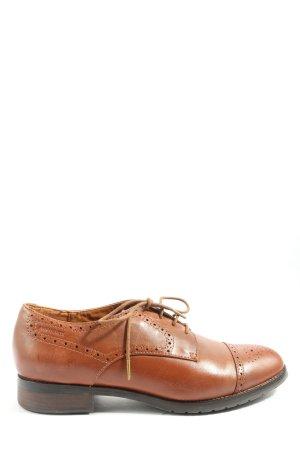 Geox Respira Buty z noskiem brązowy W stylu casual