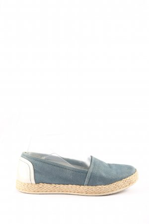 Geox Respira Espadrille Sandals blue-natural white casual look