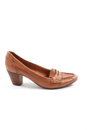 Geox Respira Loafers bruin casual uitstraling