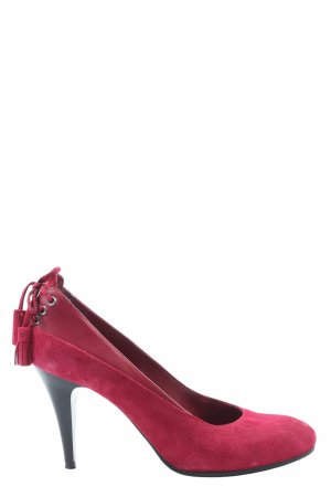 Geox Respira High Heels rot Casual-Look