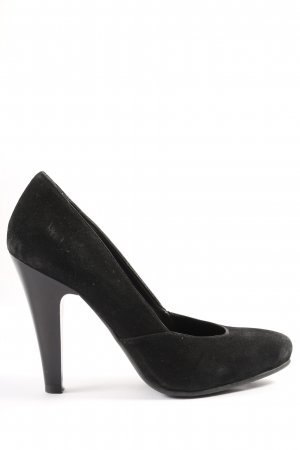 Geox Respira Hochfront-Pumps schwarz Casual-Look
