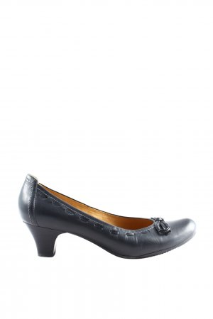 Geox Respira Hochfront-Pumps schwarz Business-Look