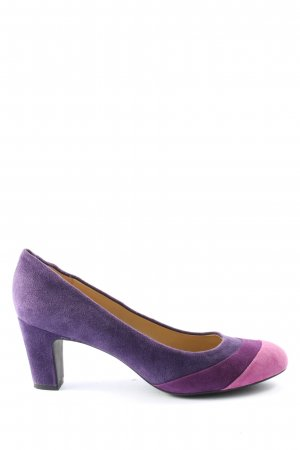 Geox Respira Hochfront-Pumps lila-pink Casual-Look