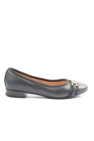 Geox Respira Klassische Ballerinas schwarz Business-Look