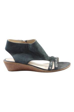 Geox Respira Komfort-Sandalen blau Casual-Look