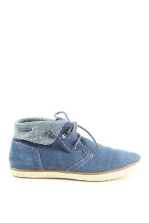 Geox Respira Korte laarzen blauw casual uitstraling