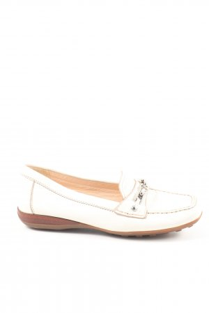 Geox Respira Mocasines blanco look casual