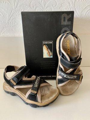 Geox Respira Sandalo outdoor nero-beige