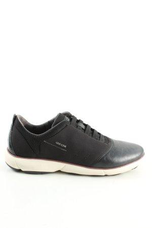 Geox Respira Schlüpfsneaker schwarz Casual-Look