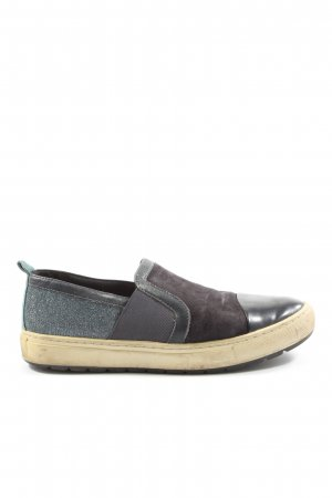 Geox Respira Schlüpfsneaker braun-blau Casual-Look