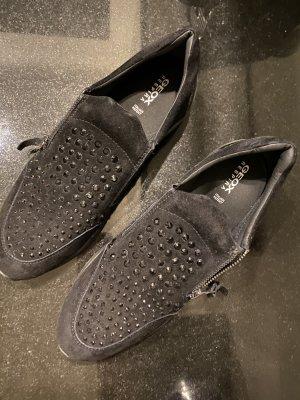 Geox Respira Slip-on Shoes black