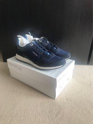 Geox Respira Sneaker in blau navy Gr. 41