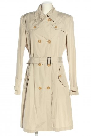 Geox Respira Trench Coat natural white business style