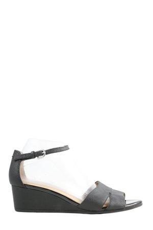 Geox Respira Wedges Sandaletten schwarz Casual-Look