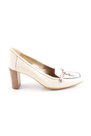 Geox Zapatos estilo Richelieu blanco puro estilo «business»