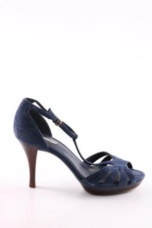 Geox Riemchenpumps blau Elegant