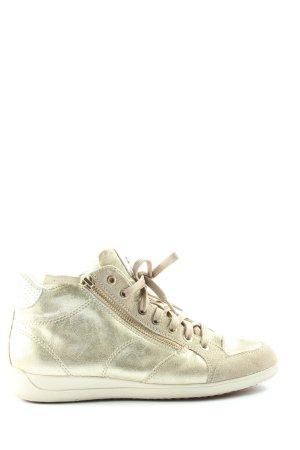 Geox Sneaker stringata argento-bianco sporco stile casual