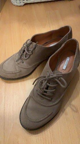 Geox Scarpa Derby marrone-grigio