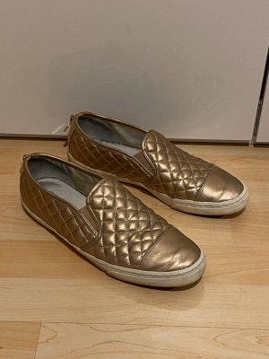 Geox Schuhe Gr.41 Slipper roségold Sneaker gold