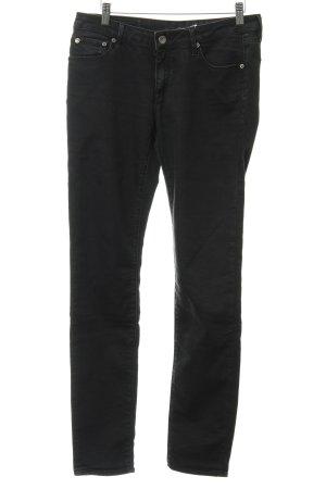 Geox Skinny Jeans schwarz Jeans-Optik